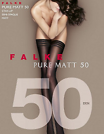 Falke Pure Matt 50 Stay-Up
