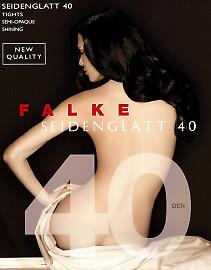 Колготки с легким шелковистым блеском Falke Seidenglatt 40