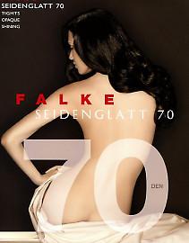 Плотные колготки с блеском Falke Seidenglatt 70