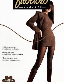 Теплые и плотные колготки с кашемиром Filodoro Classic Cotton Cashmere