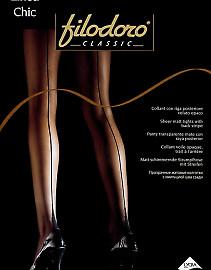 Колготки со швом Filodoro Classic Linea Chic 20