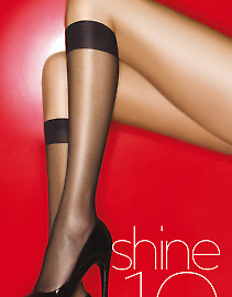 Aristoc Shine 10 Den Knee Highs 3PP GAH6