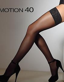 Женские чулки Giulia Emotion 40