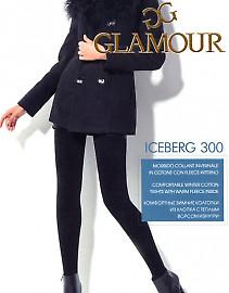 Плотные и теплые колготки с хлопком Glamour Iceberg 300