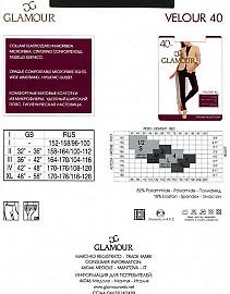 Glamour Velour 40