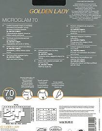 Плотные колготки из микрофибры Golden Lady Microglam 70