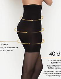 Высокие корректирующие колготки Innamore Body Corsage 40