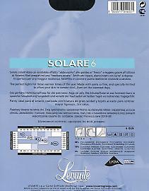 Тонкие летние колготки Levante Solare 6