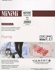 Колготки из микрофибры MiNiMi Piuma XL