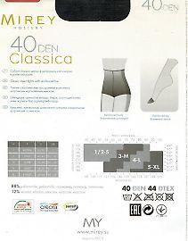 Классические колготки Mirey Classica 40