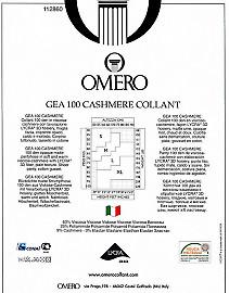 Колготки из вискозы и кашемира Omero Gea 100 Cashmere