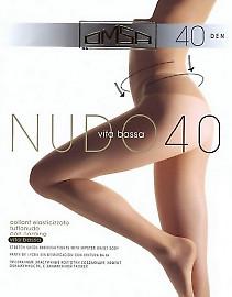 Колготки с заниженной талией Omsa Nudo 40 Vita Bassa
