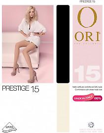 Элегантные тонкие колготки Ori Prestige 15
