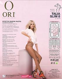 Тонкие полупрозрачные колготки Ori Talia Slim 8