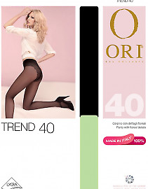 Эластичные колготки средней плотности Ori Trend 40