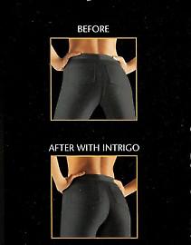 Oroblu Intrigo 10 - колготки с эффектом стрингов