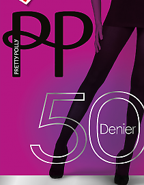 Pretty Polly 50 den Lustrous SemiOpaques AVR3
