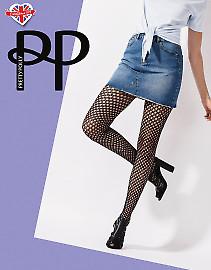 Pretty Polly Diamond Net Tights AVT8