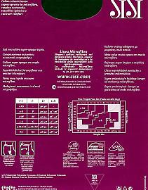 Теплые колготки с микрофиброй Sisi Microfibra 120