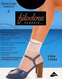 Filodoro Classic Absolute Summer 8 calzino