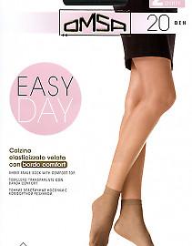 Тонкие женские носочки Omsa Easy Day 20 Calzino