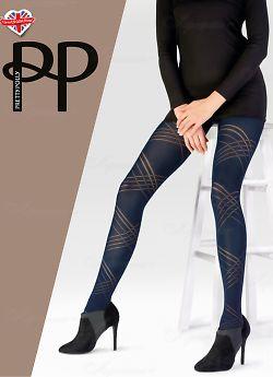 Колготки Pretty Polly Diagonal Opaque Tights 60 Den AWS9
