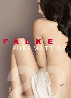 Falke Pure Matt 20 Anklet