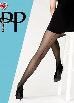 Pretty Polly Tulle Backseam Tights AWJ8