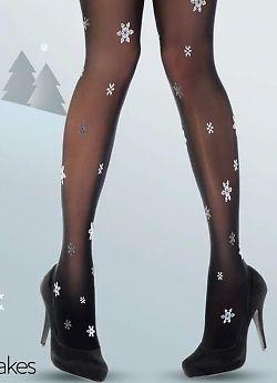 Pretty Polly Snowflakes AWC7