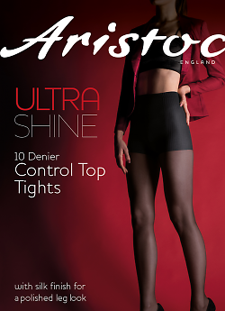 Aristoc Ultra Shine 10 Den Control Top AAE4