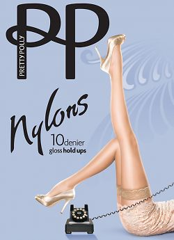 Pretty Polly Nylons Gloss 10 Den Hold Ups