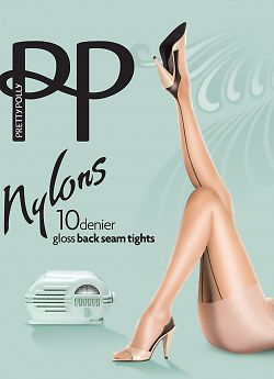Pretty Polly Nylons Backseam AKQ4