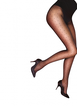 Pretty Polly Curves Pinspot Tights AUN4