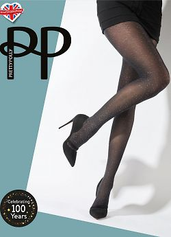 Pretty Polly Scatter Print Opaque Tights AWA8