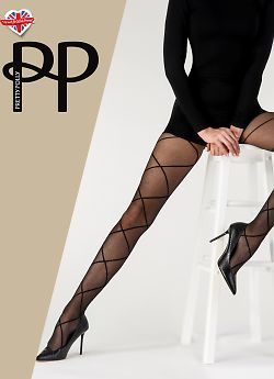 Pretty Polly Diamond Mesh Tights AWJ7