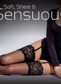 Aristoc Lace Top Stockings AWX5