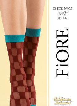 Носки женские Fiore Check Twice