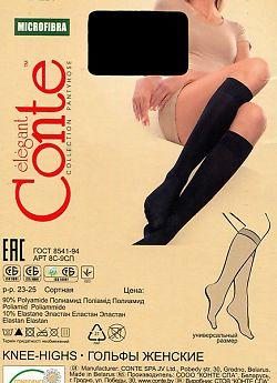 Женские гольфы Conte Microfibra 50