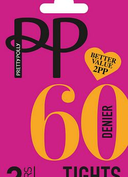 Pretty Polly 60 den opaque 2PP ERM5