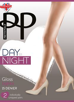 Pretty Polly Day to Night Gloss Tights EWC6