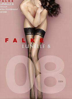 Ультратонкие чулки Falke Lunelle 8 Stay-Up