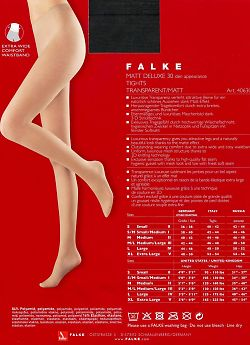 Колготки Falke Matt Deluxe 30