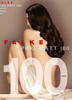 Плотные колготки из микрофибры Falke Pure Matt 100