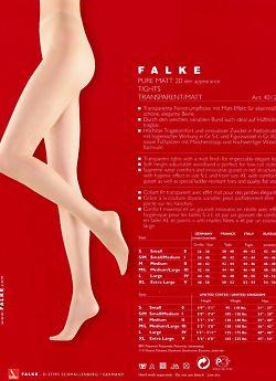 Falke Pure Matt 20