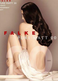 Тонкие матовые колготки Falke Pure Matt 20