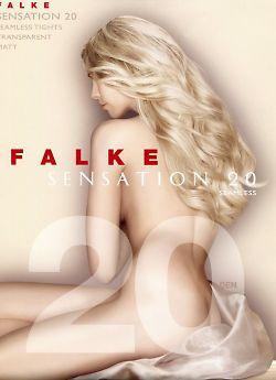 Тонкие бесшовные колготки Falke Sensation 20