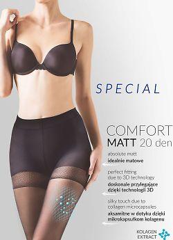 Gabriella 479 Comfort Matt 20 den Nero