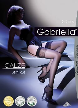 Чулки под пояс Gabriella Calze Anika