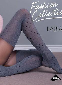 Фантазийные колготки с имитацией чулок Gabriella Fabia