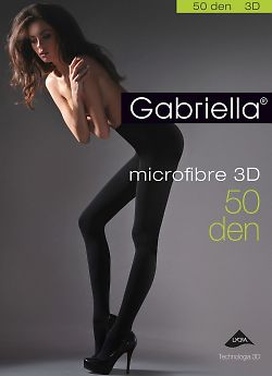 Gabriella Microfibre 3D 50 Den